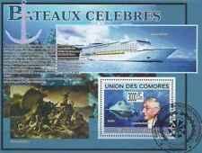Timbre Bateaux Comores BF178 o année 2009 lot 23365 - cote : 21 €