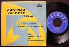 CATERINA VALENTE E SILVIO FRANCESCO EP MADE IN PORTUGAL 45 PS 7 WERNER MULLER