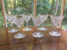 6 J.D. Bergen Electric pattern american brilliant cut Cocktails