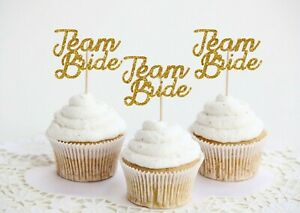 Hen Party Cake toppers Cupcake Team Bride Hen Night Accessories Decorations