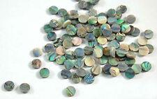 Incrustación de abulón verde material 50 piezas puntos 7 mm en muy buena condición-07