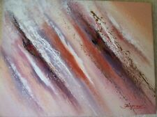 Large Size Signed Hand Modern Abstract Oil Painting