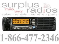 ICOM F6021 52 UHF 450-512MHZ MOBILE 45W 128CH FIRE POLICE EMS RACING BASE