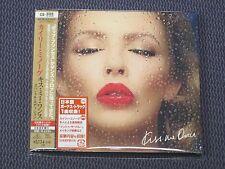 "KYLIE MINOGUE ""KISS ME ONCE"" JAPAN CD+DVD 14 TRACKS *SEALED*"