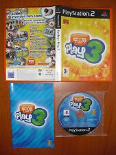 (Eye Toy) EyeToy: Play 3 [sin cámara USB] PlayStation 2, PS2, PStwo, Pal-España