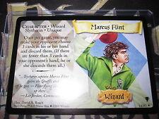 HARRY POTTER TCG TARDING CARD QUIDDITCH CUP MARCUS FLINT 14/80 RARE ENGLISH MINT