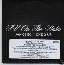 (404I) TV On The Radio, Dancing Choose - DJ CD