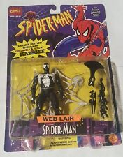 spiderman web lair animated series action figure 1995  kaybee exclusive