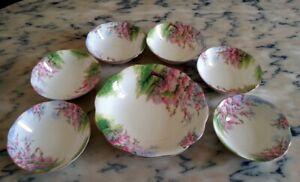 Royal Albert Blossom Time servizio macedonia piatto coppette porcellana inglese