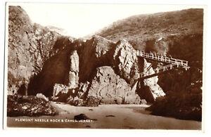 AK, Jersey, Plemont Needle Rock & Caves, um 1950