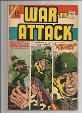 War and Attack #55 (Aug 1966, Charlton) VG/FN  VERY GOOD/FINE