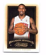 Brandon Jennings 2013-14 Timeless Treasures, (Gold), 2/10 !!