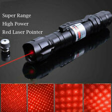 LASERPOINTER ROTE STRAHL EXTREM 40 kM + AKKU 1mW RED POWER POINTER + STAR CAPS