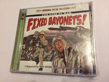 FIXED BAYONETS! - FOX GOES TO WAR OOP Intrada Ltd Score OST Soundtrack CD SEALED