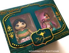 Disney Princess Art of Jasmine 2015 Vinylmation Figure Set of 2 - NIB Sealed