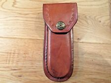 """Brown leather knife sheath 5"""" - cases - second quality"""
