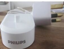 Genuine Philips Sonicare toothbrush charger with 3pin adapter + 1 Year warranty