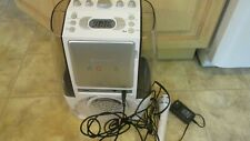 Singing Machine SML605W Bluetooth /CD Agua Dancing Water Fountain Karaoke System
