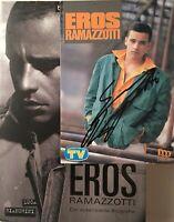 Eros Ramazotti signiert Karte Original Unterschrift Signatur Autogramm