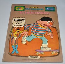 SESAME STREET French Book 1978  Bert & Ernie Muppets 1 rue Sesame