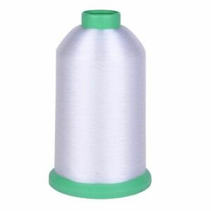 New 100% Nylon Monofilament Sewing Thread CLEAR  0.14mm dia Cone Best Price UK