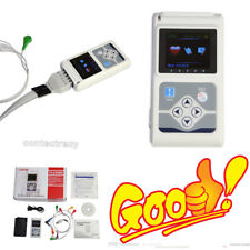 CONTEC TLC5000 Dynamic ECG System 12-lead  Continuously ECG waves for 24h+ PC SW