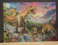Dinosaurs - 3D Lenticular Double Image 395mm X 295mm