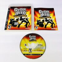 Guitar Hero: World Tour (Sony PlayStation 3, 2008) PS3 Complete w/ Manual