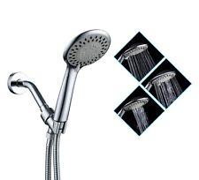 3 Function Handheld Shower Head+Stainless Steel Hose+Bracket . Bathroom supplies