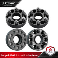 """1.5"""" Hubcentric Wheel Spacers   4 pieces   6x120 Fits Chevy GMC Canyon Colorado"""