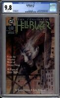 Hellblazer 1 CGC Graded 9.8 NM/MT DC Comics 1988