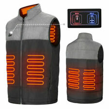 Heated Vest Warm Body Electric USB Men Women Heating Coat Jacket Winter Clothing