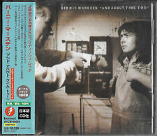 BERNIE MARSDEN And About Time too +3BT JAPAN CD OBI Whitesnake Company of Snakes