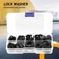 260pcs Manganese Steel Push On Washer Retaining Lock Washers 4/5/6/8/10/12mm New