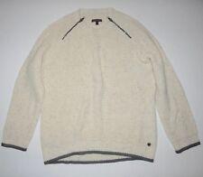 Vans Womens Cosmic Fashion Knit Cotton Acrylic Blend Sweater Medium