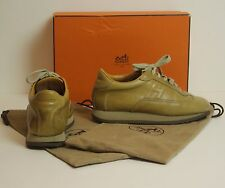 HERMÈS Beautiful Leather Trainers / Sneakers / Shoes - Size EU 36 - UK 3  Hermes