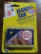 New listing Super Glue Ht2 Handi-Tak Reusable Adhesive Double Pack 1993 Vintage New Sealed