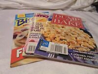 Lot (3) Dump & Bake 2016 + Taste Of Home Smoothies 2009 + Bisquick Recipes   A13