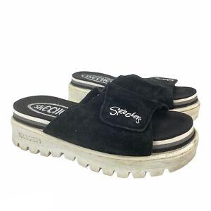 Vintage 90s Skechers Women's Jammers Sandals Tough Shoes Chunky Platform Size 7