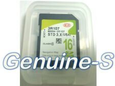 Oem 2015 Kia Cadenza Gps Navigation Data Map Sd Card Chip 96554-3R107 Us/Canada