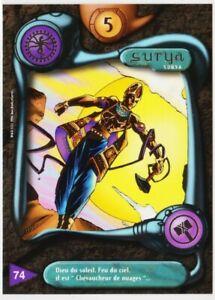 74 SURYA - CARTE DEUS - SERIE I - 1996 - VF [ NEUF MINT ] trad's