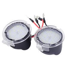 2*Weiß LED Außenspiegel Seitenspiegel Pfütze Lichter Für Lincoln MKZ MKS MKX MKT