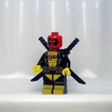 A1105 Lego CUSTOM PRINTED X Men INSPIRED DEADPOOL MINIFIG Colossus Wade Wilson
