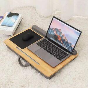 Portable Bamboo Laptop Desk Tray