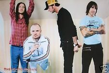 """RED HOT CHILI PEPPERS """"BAND POSING,ANTHONY IN TEENAGE MILLIONAIRE SHIRT"""" POSTER"""