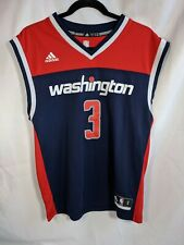 Washington Wizards Bradley Beal Jersey Adidas Sz S Blue