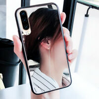 For Huawei P30 P20 Pro Mate 20 Lite Shockproof Mirror Soft Silicone Case Cover