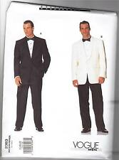 Vogue 2383 38-42 Sewing Pattern Men's Tuxedo, Dinner Jacket, Dress Slacks