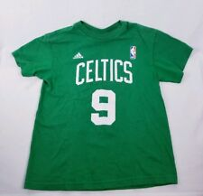 Boston Celtics Youth Size Rajon Rondo #9 NBA Adidas Jersey T-Shirt Size S