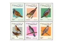 KUB7901 Field birds 6 pcs MNH 1979